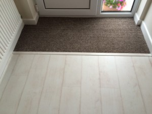 Entrance Matting with Laminate